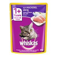 Whiskas Pouch Cat Food - Mackerel