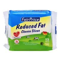 FairPrice Cheese Slices - Reduced Fat 250G
