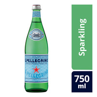 San Pellegrino Natural Mineral Glass Bottle Water - Sparkling