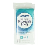 FairPrice Non Woven Disposable Briefs - L