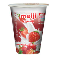 Meiji Low Fat Yoghurt - Strawberry