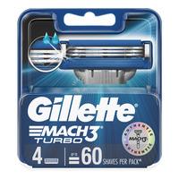 Gillette Razor Cartridge Refill - Mach 3 (Turbo)