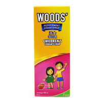 Woods' Peppermint Children Cough Syrup - Strawberry