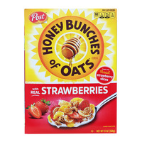 Post Honey Bunches Of Oats Cereal - Real Strawberries