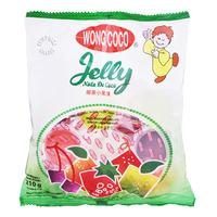 Wong Coco Mini Jelly Nata De Coco - Mixed Fruits