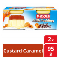 Marigold Milk Pudding - Custard Caramel