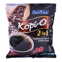 FairPrice 2 in 1 Traditional Black Coffee Bags - Kopi O