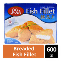 Pan Seas Frozen Breaded Fish Fillet