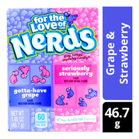 Nestle Nerds Candies - Grape & Strawberry