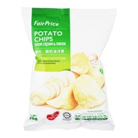 FairPrice Potato Chips - Sour Cream & Onion