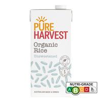 Pureharvest Organic Rice Milk - Calcium  1L
