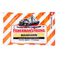 Fisherman's Friend Sugar Free Lozenges - Mandarin
