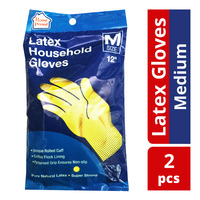 HomeProud Latex Household Gloves - M