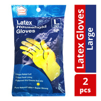 HomeProud Latex Household Gloves - L