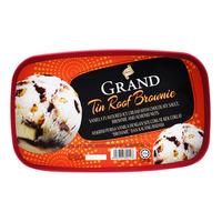 King's Grand Ice Cream - Tin Roof Brownie