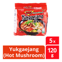 Samyang Korean Instant Noodle - Yukgaejang (Hot Mushroom)
