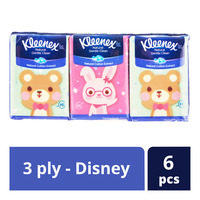 Kleenex Ultra Soft Pocket Tissues - Disney (3ply)