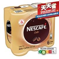 Nescafe Milk Coffee Can Drink - Latte