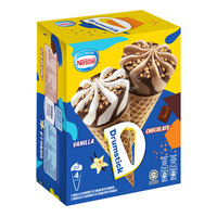 Nestle Ice Cream Drumsticks - Chocolate & Vanilla