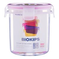 Komax Biokips Plastic Container - Circle