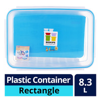 Komax Biokips Plastic Container - Rectangle