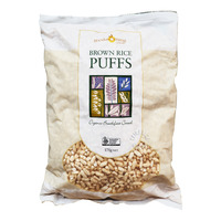 Good Morning Organic Breakfast Cereal Puffs - Brown Rice