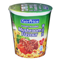 FairPrice Instant Cup Noodles - Mushroom 70G