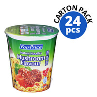 FairPrice Instant Cup Noodles - Mushroom