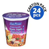 FairPrice Instant Cup Noodles - Tom Yam