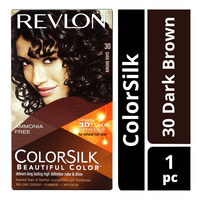 Revlon ColorSilk Hair Colour - 30 Dark Brown