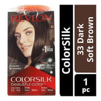 Revlon ColorSilk Hair Colour - 33 Dark Soft Brown
