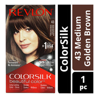 Revlon ColorSilk Hair Colour - 43 Medium Golden Brown
