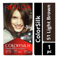 Revlon ColorSilk Hair Colour - 51 Light Brown