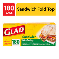 Glad Sandwich Bags -  Fold Top