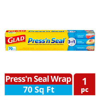 Glad Press' n Seal Wrap (70 square feet)