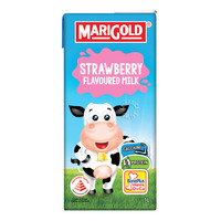 Marigold UHT Packet Milk - Strawberry