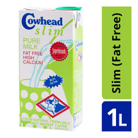 Cowhead UHT Milk - Slim (Fat Free)