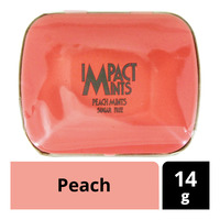 Impact Mints Sugar Free Sweets - Peach