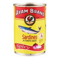 Ayam Brand Sardines in Tomato Sauce - Spicy