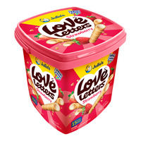 Julie's Love Letter Wafer Roll - Strawberry