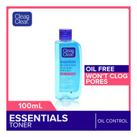 CLEAN CLEAR clean essentials oil control toner 100ml