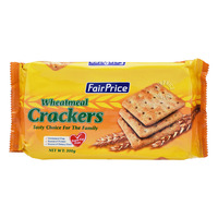 FairPrice Wheatmeal Crackers