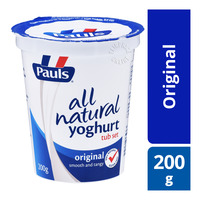 Paul's All Natural Yoghurt - Original