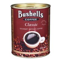 Bushells Gourment Instant Coffee - Classic  200G