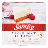 Sara Lee Cheesecake - Original (Baked)