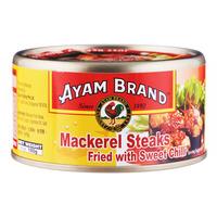 Ayam Brand Fried Mackerel Steaks in Sweet Chili Sauce