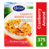 Harvest Fields Cereal - Cranberry Almond