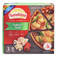 Sunshine Frozen Pizza - Turkey Ham