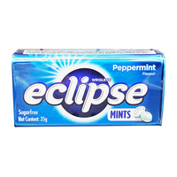 Wrigley's Eclipse Sugar Free Mints Candy - Peppermint