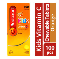Redoxon Kids Vitamin C Chewable Tablets - Orange